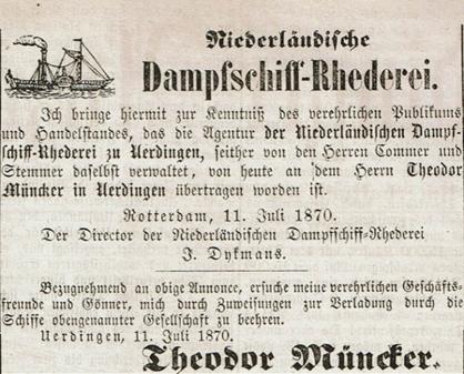 Stelten KG- Geschichte seit Theodor Müncker